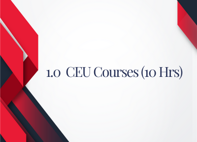 10 Hours CEUs for Court Reporters